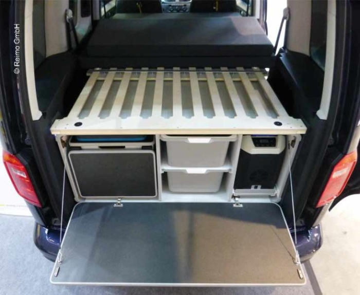 CAMPINGBOKSEN MEDIUM, FOR VW CADDY STØRRELSEN