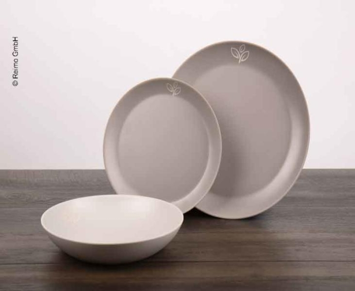 Melamine servicessett Earth Deluxe Geschirr EARTH 6tl. 2Pers 917999